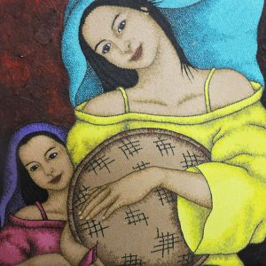 Code:19923 Title:Mother and Child Size:32x24 Medium:OC