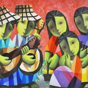 Code: 19990 Title: Harana Size: 24x36 in Medium: Acrylic on Canvas