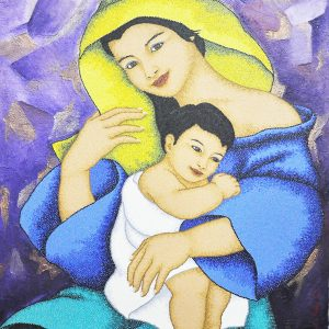 Code:20067 Title:Mother and Child Size:32x24 Medium:OC