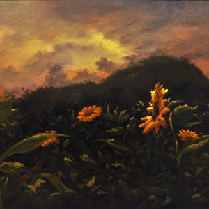 Code: 22107 Title: Sunflower of Life Size: 24 x 36 in Medium: Oil on Canvas