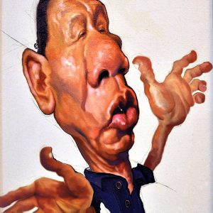 Title:  Duterte Size: 11x15in Medium: Oil on Canvas