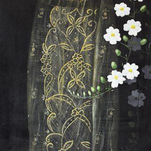 Code: 11094 Title: Pamana Size: 48x24in Medium: Acrylic on Canvas