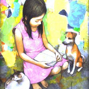 Code: 11910 Title: Size: 20 x 16 Medium: Acrylic on Canvas