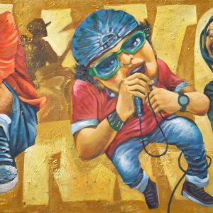 Code: 15081 Title: Size: 24 x 48 Medium: Acrylic on Canvas
