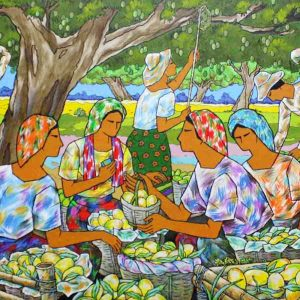 Size: 24in x 48 inches Medium: Oil on Canvas GP: 115,200 Net: 92,200 Pre-selling: (for limited time only): 80,600
