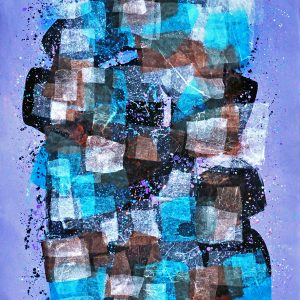 Code: 22599 Title: Size: 40 x 20 Medium: Mixed Media on Paper Year: 2018