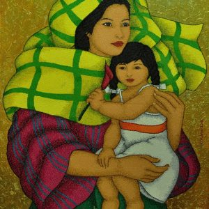Code:18740 Title:Mother and Child Size:32x24 Medium:OC